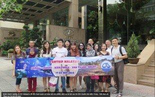Đoàn tham gia khảo sát Malaysia 1