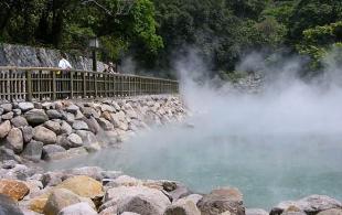suối khoáng Kim Bôi