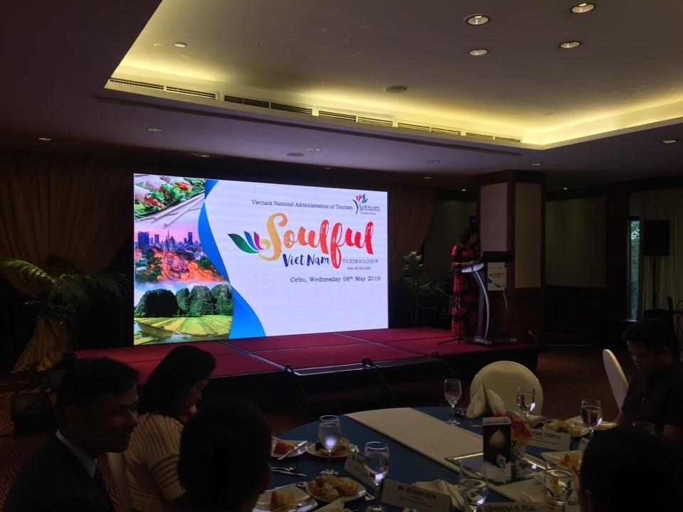 giới thiệu Du lịch Việt Nam tại Philippines2