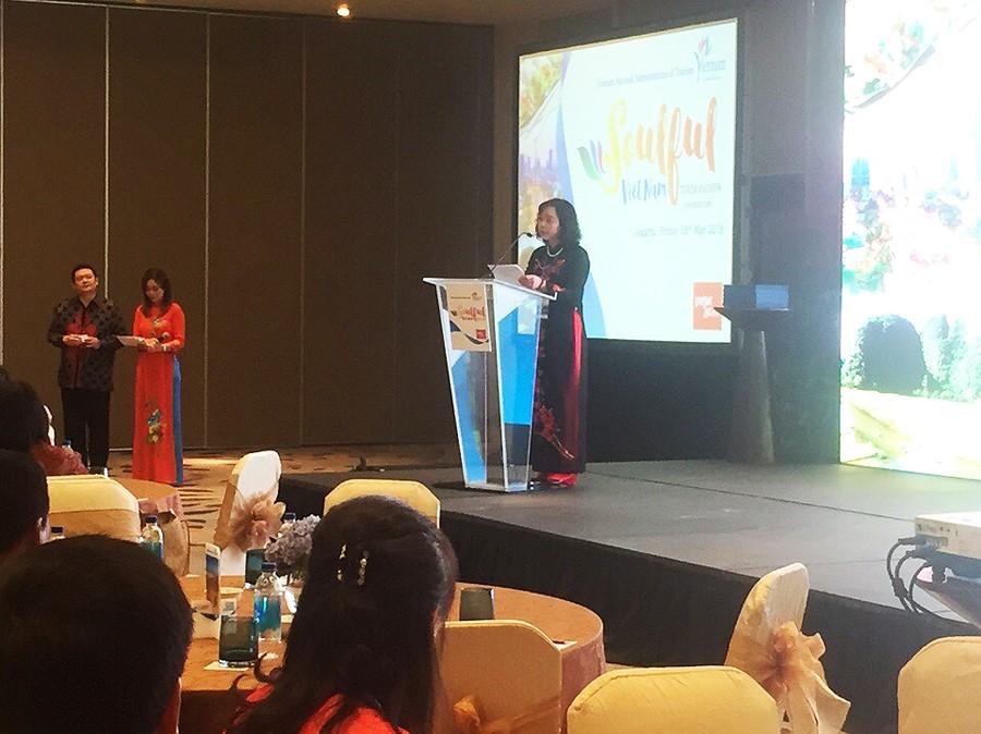 giới thiệu du lịch Việt Nam tại Jakarta2